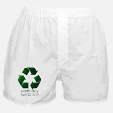 Earth Day 2015 Boxer Shorts
