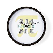 Pi Backwards is Pie Wall Clock