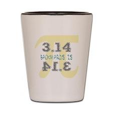Pi Backwards is Pie Shot Glass