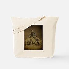 Japanese Sumo Wrestlers 1886 Tote Bag