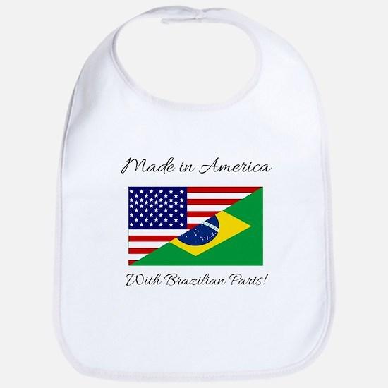 Made in America with Brazilian Parts! Bib