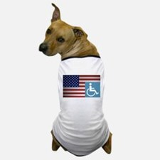 Disabled American Veteran Dog T-Shirt
