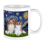 Starry Night & Papillon Mug