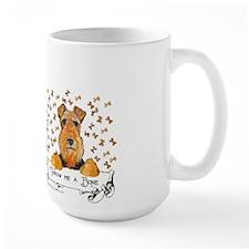 Welsh Terrier Bones Mug