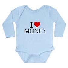 I Love Money Body Suit