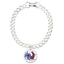 BLue rooster Bracelet
