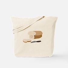 Happy Bread Tote Bag