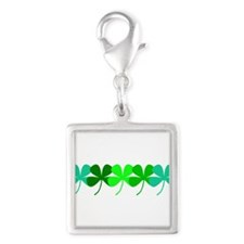 Irish Green 4 Leaf Clovers St. Patricks Day Charms