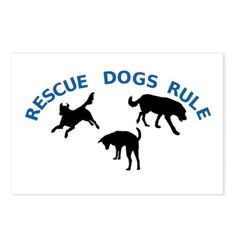 Rescue Dogs Rule Postcards (Package of 8)