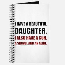 Beautiful Daughter Gun Journal