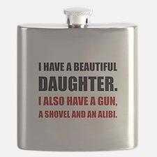 Beautiful Daughter Gun Flask