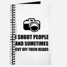 Camera Shoot Cut Head Journal