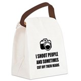 I shoot people and cut off their heads Lunch Sacks