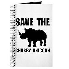 Chubby Unicorn Rhino Journal