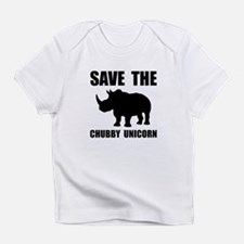 Chubby Unicorn Rhino Infant T-Shirt