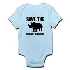 Chubby Unicorn Rhino Body Suit