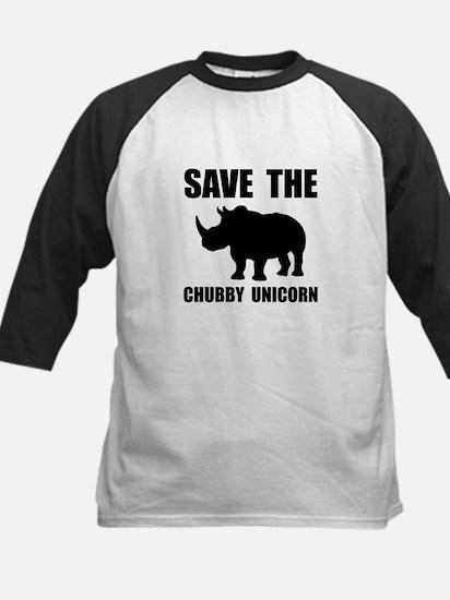 Chubby Unicorn Rhino Baseball Jersey