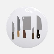 Chef Knives Ornament (Round)
