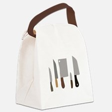 Chef Knives Canvas Lunch Bag