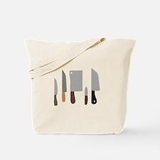 Chef Knives Tote Bag