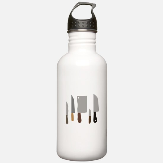 Chef Knives Water Bottle