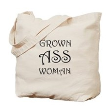 Grown Ass Woman Tote Bag