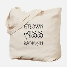 Grown Ass Woman Tote Bag
