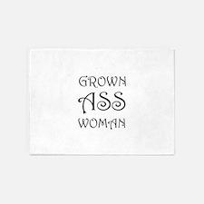 Grown Ass Woman 5'x7'Area Rug