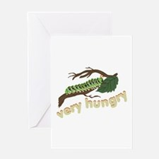 Very Hungry Greeting Cards