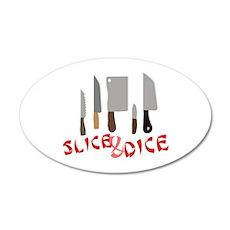 Slice & Dice Wall Decal