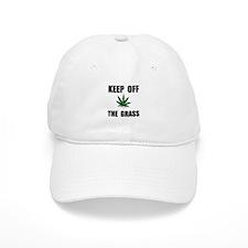 Keep Off The Grass Baseball Baseball Cap