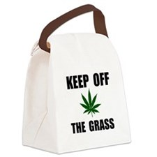 Keep Off The Grass Canvas Lunch Bag