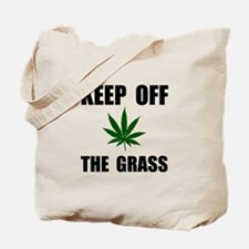 Keep Off The Grass Tote Bag