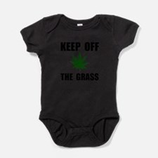 Keep Off The Grass Baby Bodysuit