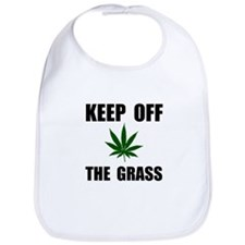 Keep Off The Grass Bib