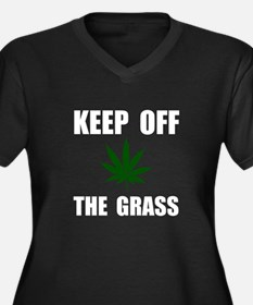 Keep Off The Grass Plus Size T-Shirt