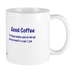 Bad Poet Good Coffee Mug
