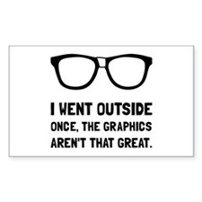 Outside Graphics Not Great Decal