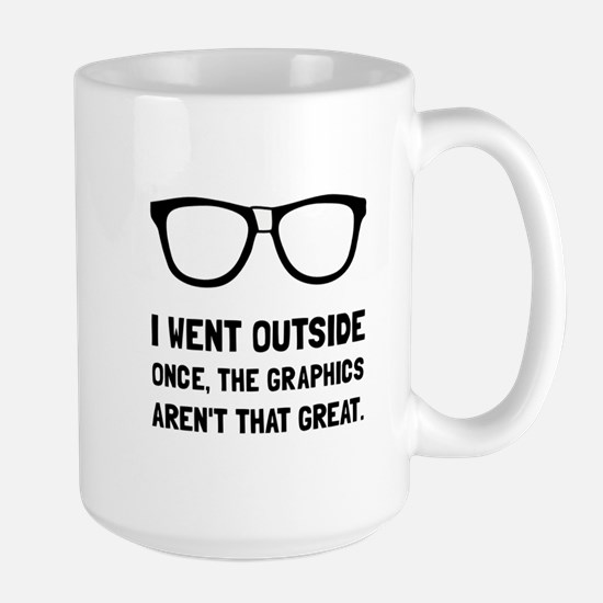 Outside Graphics Not Great Mugs