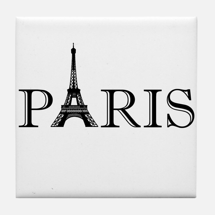Paris Eiffel Tower Tile Coaster