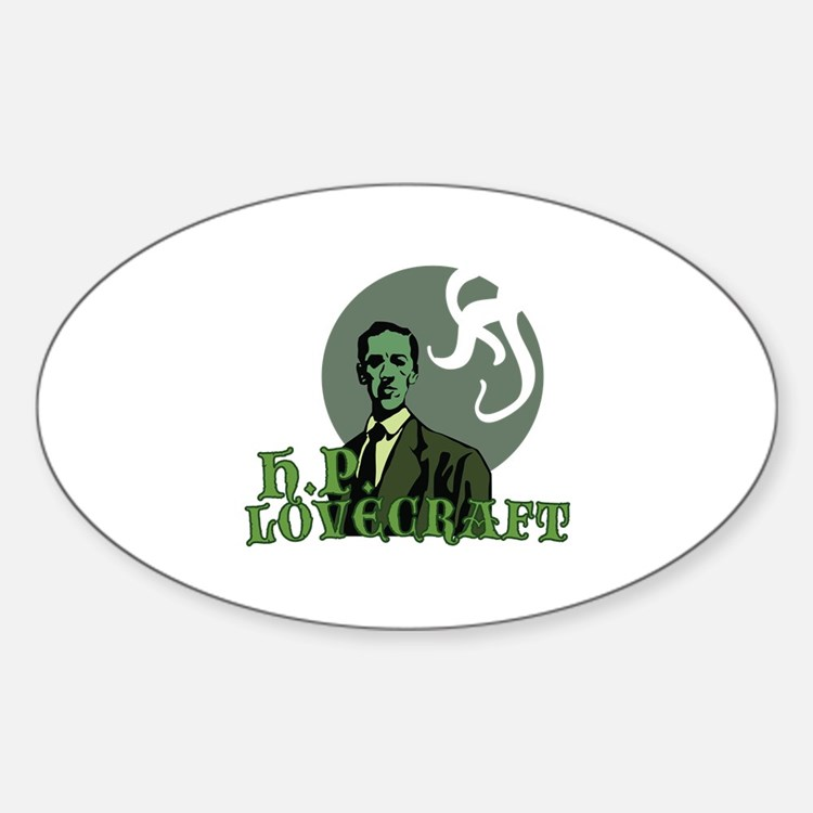 H.P. Lovecraft Decal