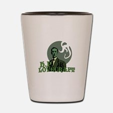 H.P. Lovecraft Shot Glass