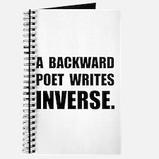 Poet Writes Inverse Journal
