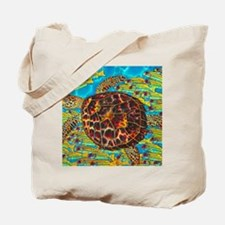Hawksbill & Blue Striped Snappers Tote Bag