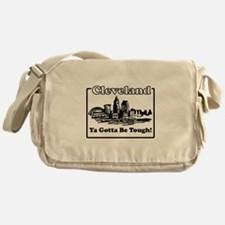 Ya Gotta Be Tough Messenger Bag
