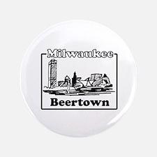 """Beertown 3.5"""" Button"""