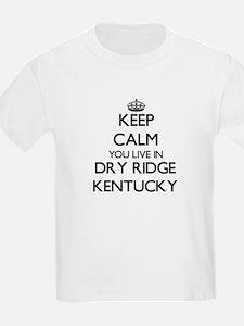 Keep calm you live in Dry Ridge Kentucky T-Shirt