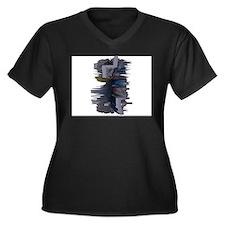 EINSTEIN'S BRAIN ON ACID Plus Size T-Shirt