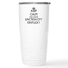 Keep calm you live in J Travel Mug