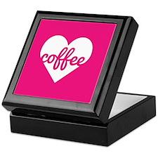 Coffee Heart Keepsake Box